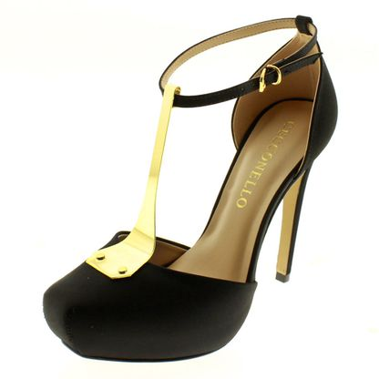 Sapato branco feminino salto alto