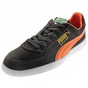Tênis Masculino Dallas Preto e Laranja Puma - 46901803 - Clovis Calçados