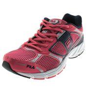 01 - Tênis Feminino Reach W Pink Fila - 549381 - Clovis Calçados
