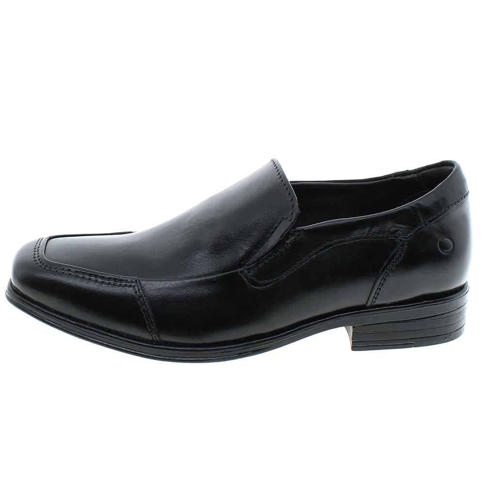 Sapato Infantil Masculino Social Preto Democrata - 028109JR