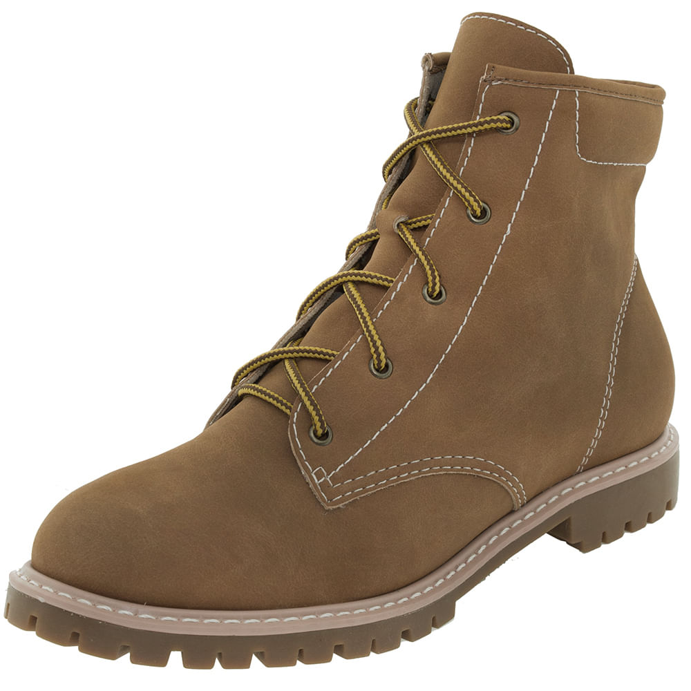 Bota Feminina Cano Baixo Timber / Yellow Crysalis