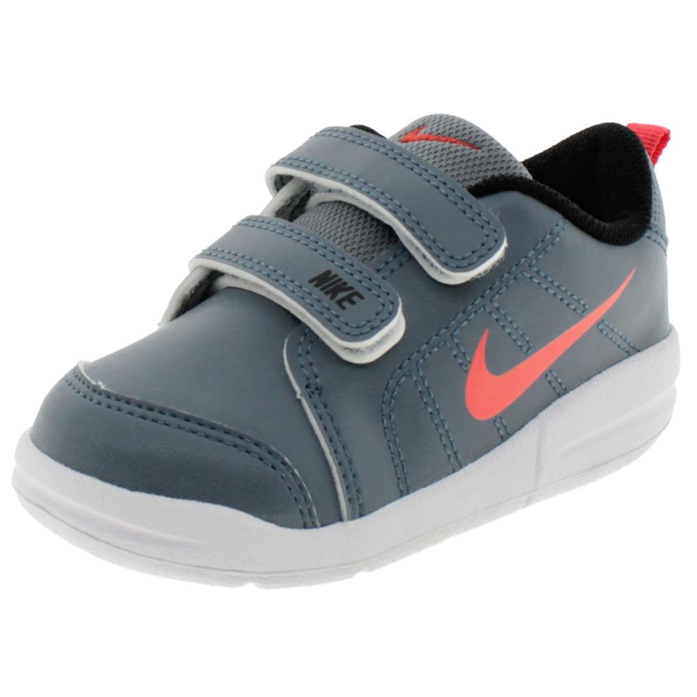 Tênis Infantil Masculino Pico 4 TDV Cinza Nike - 706610
