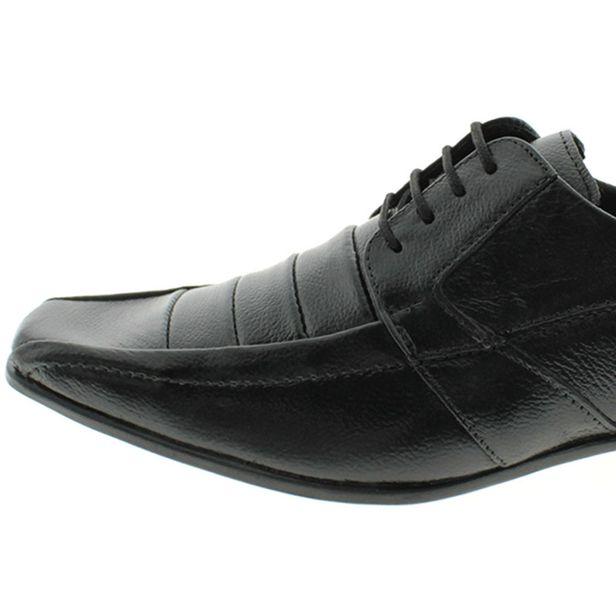 409c8e489 Sapato Social Masculino Com Cadarço Preto Parthenon Shoes | Promoção |  Lojas Clovis Calçados - cloviscalcados