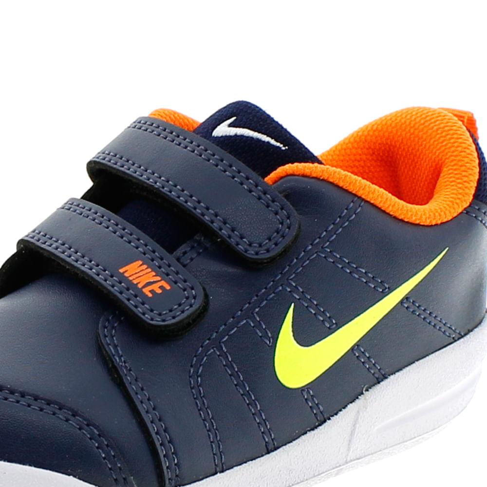 402e875c0ec Tênis Infantil Masculino Pico 4 TDV Marinho Laranja Nike