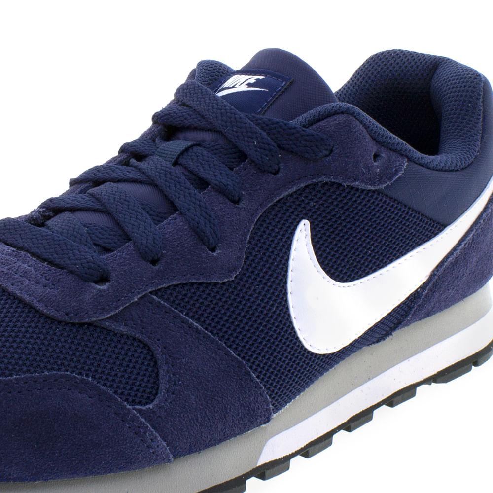 Tênis Masculino Md Runner 2 Marinho Branco Nike  098d1da603eb6