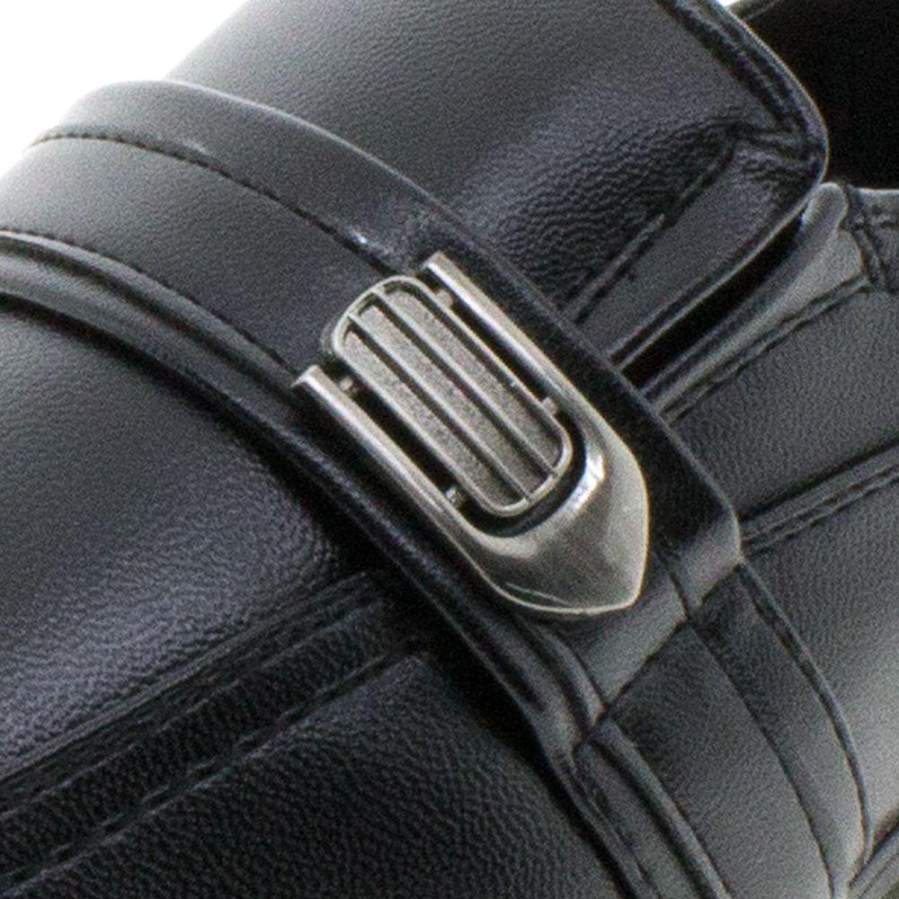 87ccd3c89 Sapato Infantil Masculino Preto Broken Rules /Clovis - 95011 -  cloviscalcados