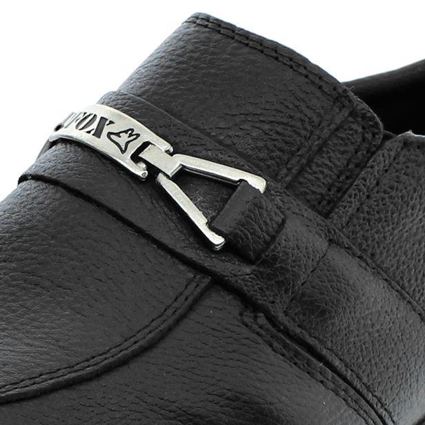 Sapato Masculino Social Preto Fox Shoes   Promoção   Lojas Clovis Calçados  - cloviscalcados 54873299b8
