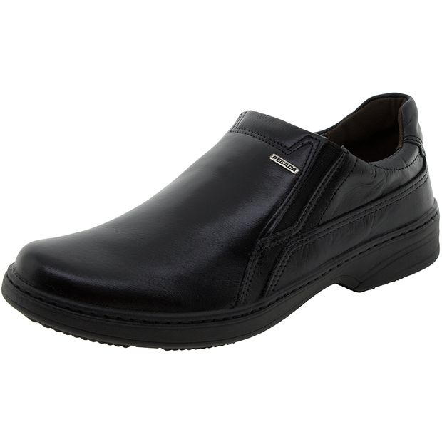 d76216ff1db Sapato Masculino Social Preto Pegada - 21211 - cloviscalcados