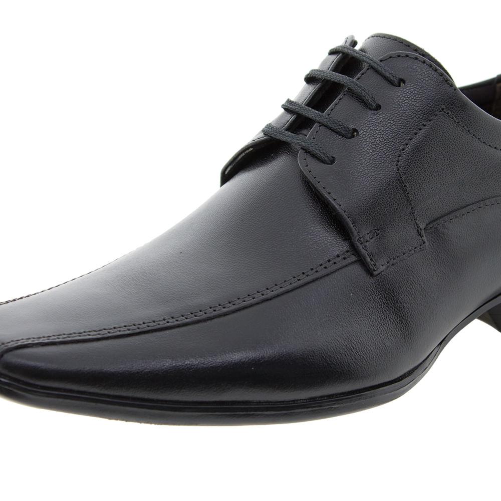e80130723 Sapato Masculino Social Premier Preto Democrata