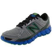 01 - Tênis Masculino Running Course Cinza/Azul New Balance - M750SK1 - Clovis Calçados