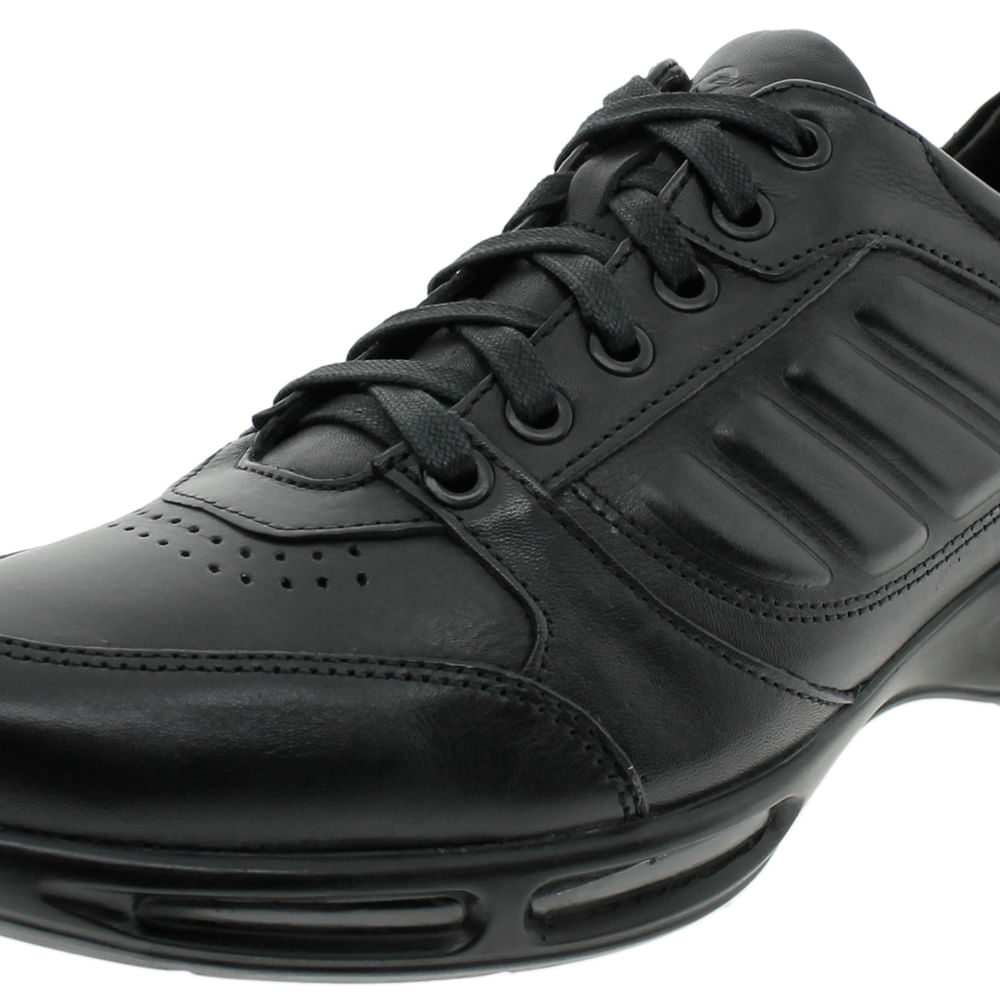 3f16bb246 Sapato Masculino Air Full II Preto Democrata