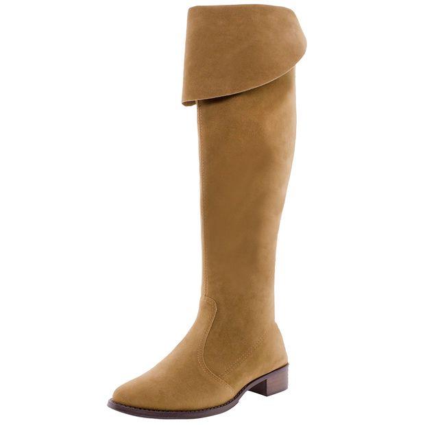 1ad37ff01 Bota Feminina Over Knee Conhaque Bottero - 252101 - cloviscalcados