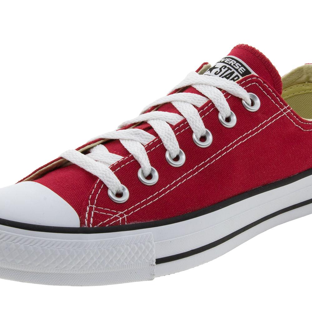 041cb2bbf0 Tênis Feminino AS Core OX Vermelho Converse All Star - 114004 ...