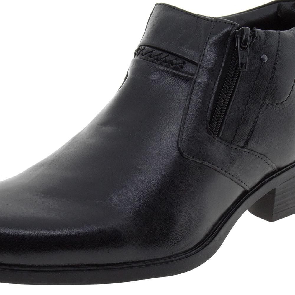 Bota Masculina Carter Preta Manutt   1ª Troca Grátis   Lojas Clovis Calçados  - cloviscalcados a544e83679