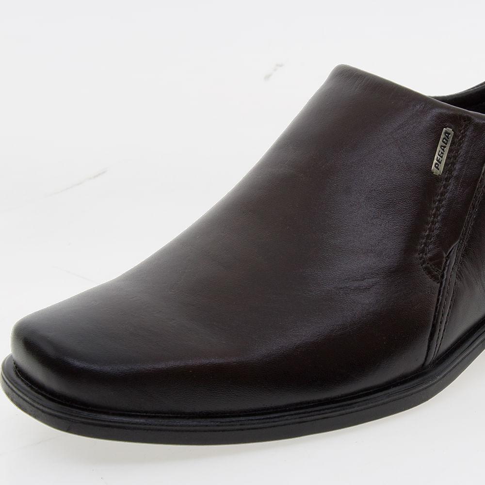 436cf218ee Sapato Masculino Social Café Pegada | Clovis - 22101 - cloviscalcados