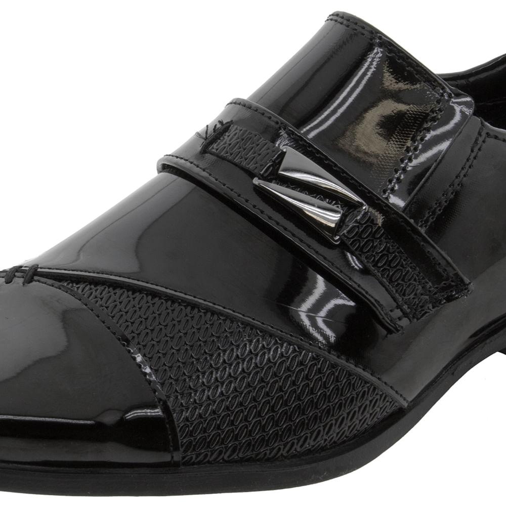 190d2a8bb Sapato Masculino Social Preto Mariner | Clovis - 73095 - cloviscalcados