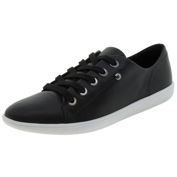 76a88c184 Sapato Feminino Salto Baixo Embutido Linhaça Usaflex - N220150 ...