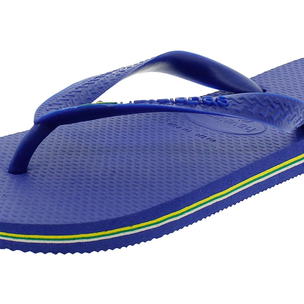 f52a3e162 Chinelo Masculino Brasil Azul Havaianas - 4000032 - cloviscalcados