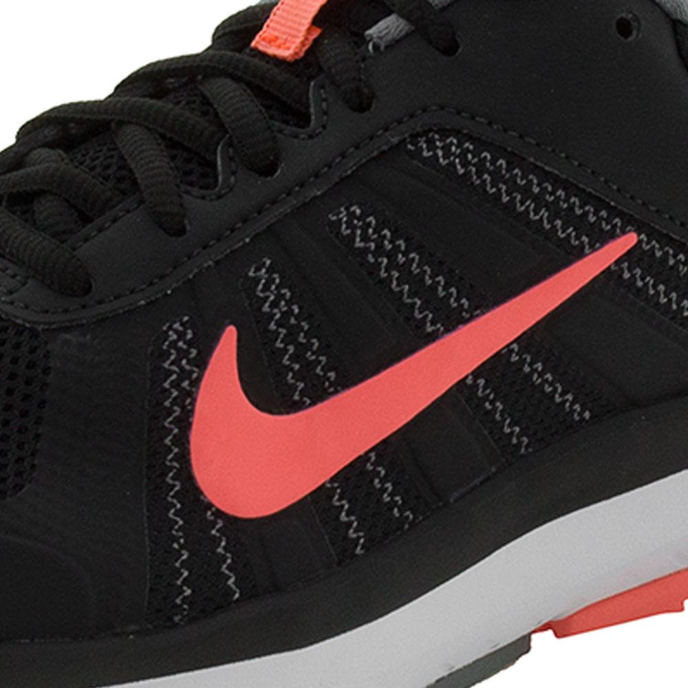 5356c83095050 Tênis Feminino Dart 12 MSL Preto Coral Nike - 831539 Clovis Calçados.  Previous. 01  01  01  01  01  01  01. Next. PASSO ...