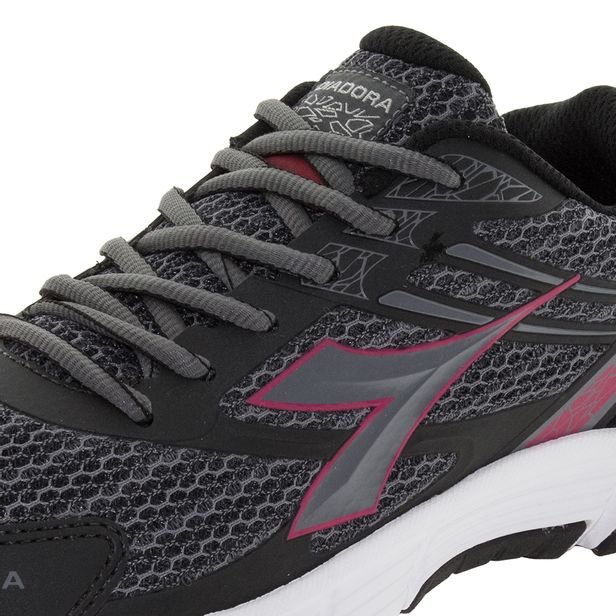 25477f4050 Tênis Feminino Speed W Preto Pink Diadora - 125510 - cloviscalcados