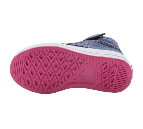 bf864b6ba Tênis Infantil Feminino Azul Pink Via Vip - 2627. Previous. 01  01  01  01   01 ...