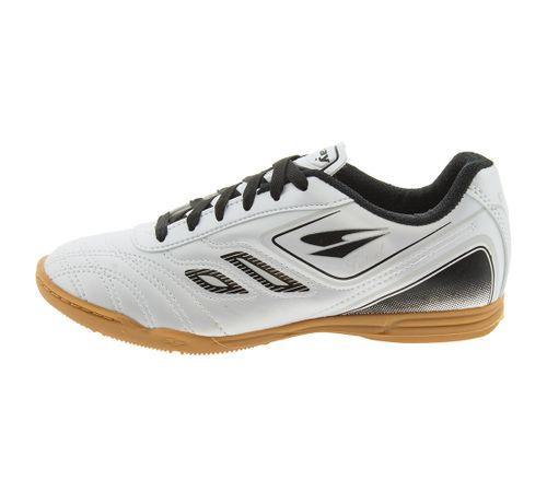 Chuteira Masculina Futsal Branca Dray - 801 - cloviscalcados 8af47d2aa3b83