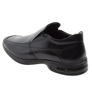 6be78ac97 Sapato Masculino Social 3D Preto/Liso Jota Pe - 30002 - cloviscalcados