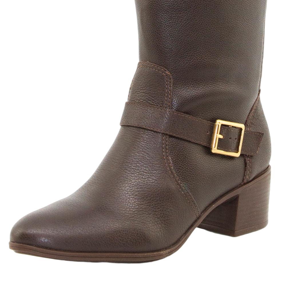 0444d4bdff Bota Feminina Over Knee Marrom Bottero - 266103 - cloviscalcados