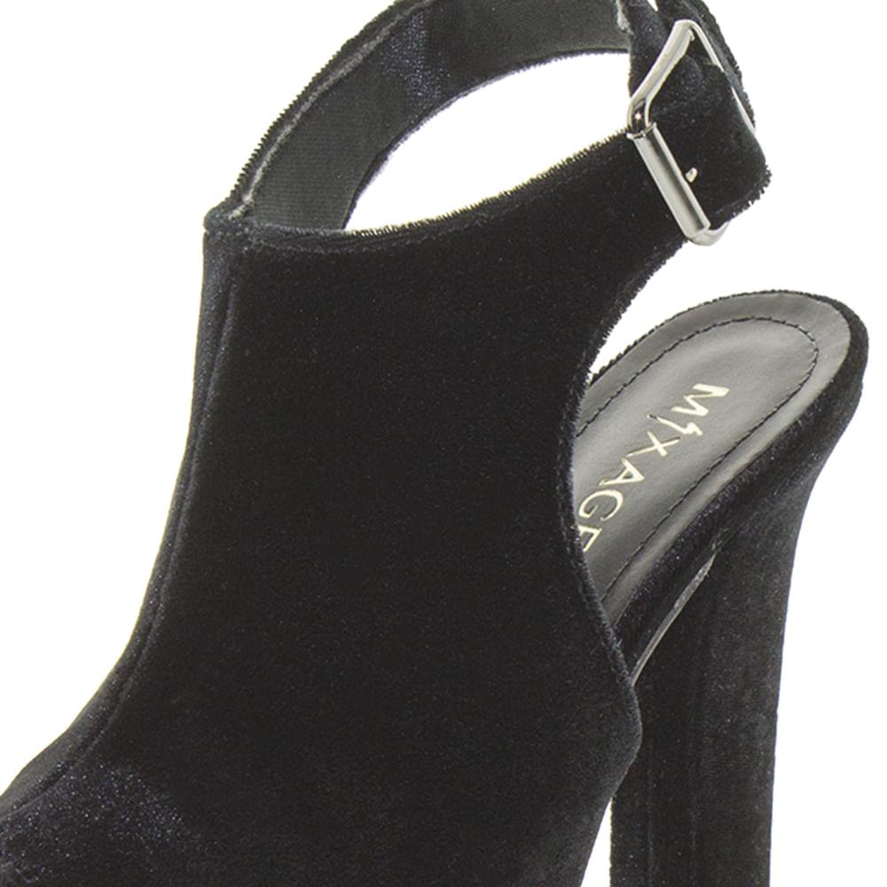 c7c6bfe9be Sapato Feminino Ankle Boot Preto Mixage - 8777837 - cloviscalcados