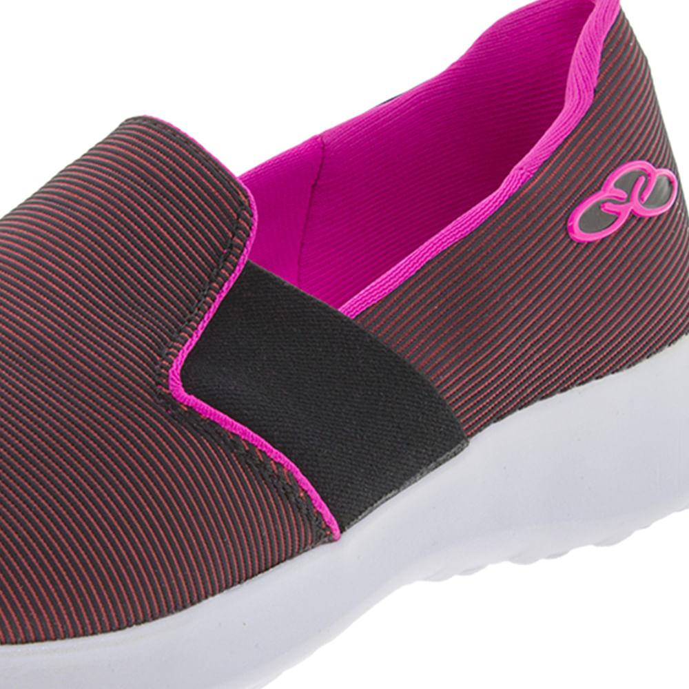 cac0a9ea4e4 Tênis Feminino Love Preto Pink Olympikus - 362 - cloviscalcados