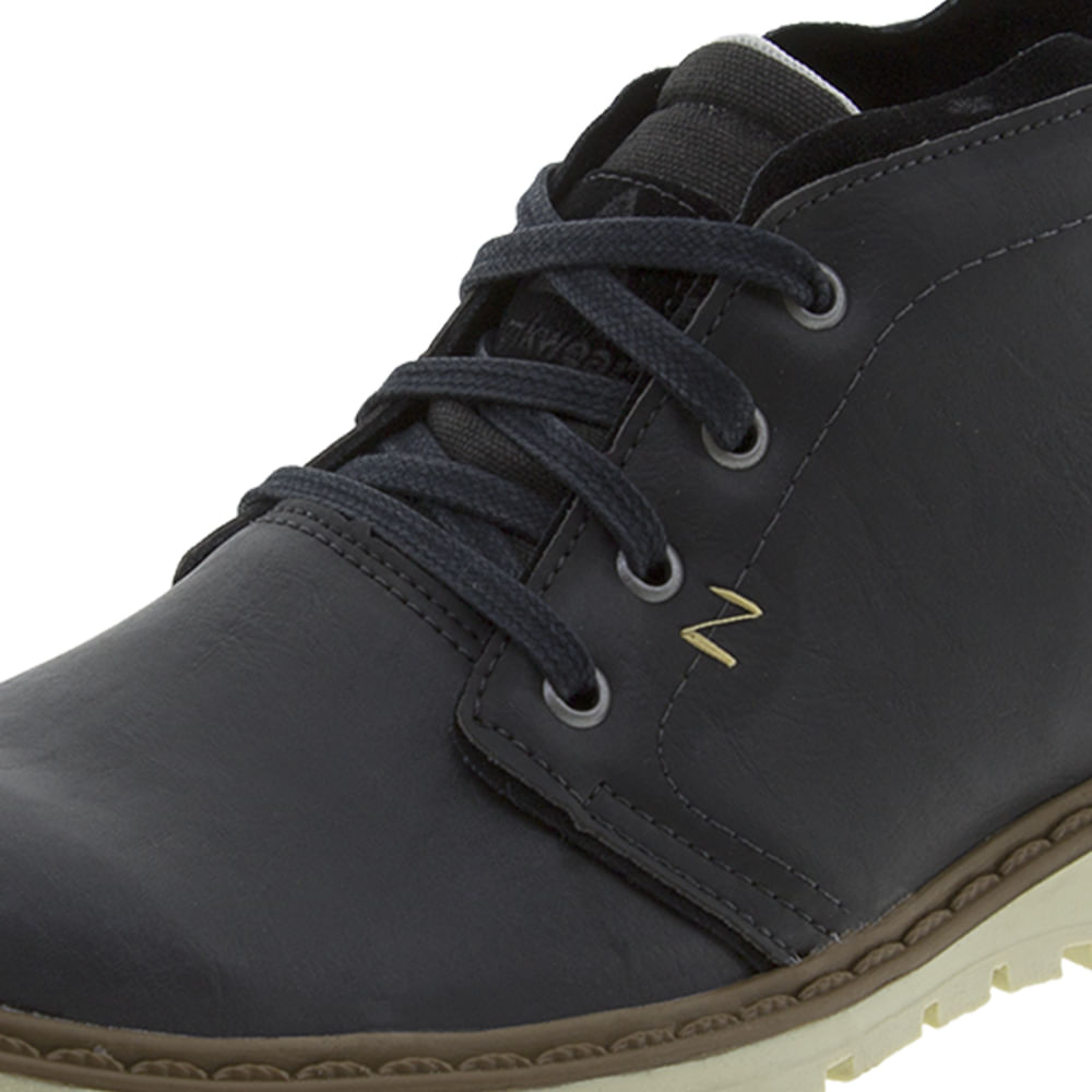 b0188f9cb Bota Masculina Casual Preta Strikwear - 722805 - cloviscalcados