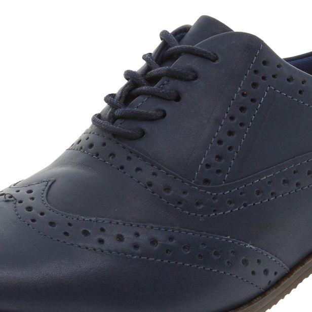 c067f15b9a Sapato Feminino Oxford Marinho Bottero - 272901 - cloviscalcados