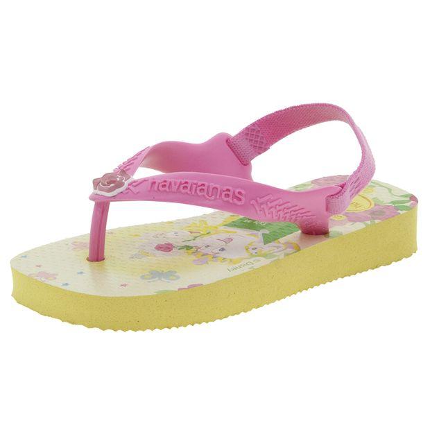 f1f09a31e5 Chinelo Infantil Feminino Slim Princesas Verde Havaianas Kids ...