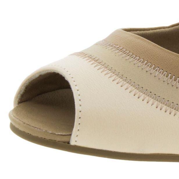 e16e6b800 Sapato Feminino Salto Baixo Pele Usaflex - N2264 - cloviscalcados