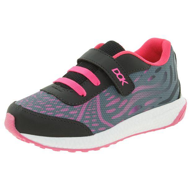 Tenis-Infantil-Feminino-Preto-Pink-Dok---58004-01