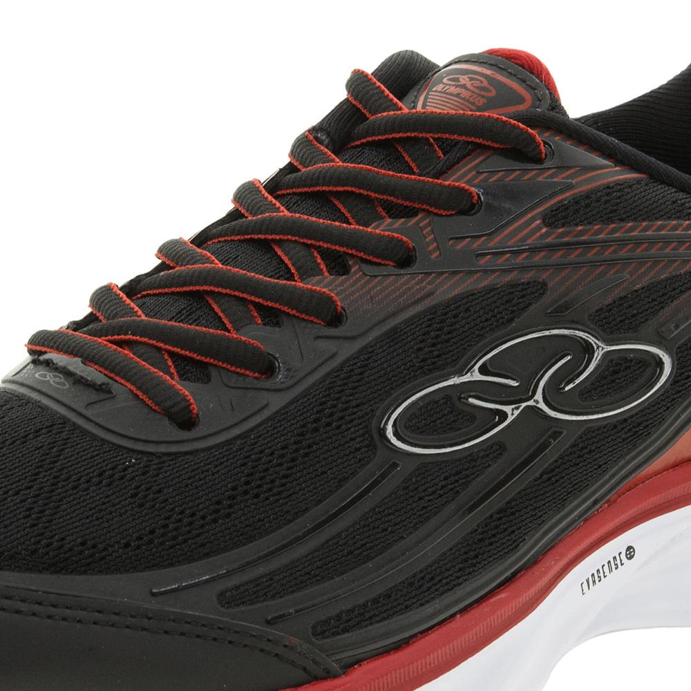 1acc17044a5 Tênis Masculino Starter Preto Vermelho Olympikus - 341 - cloviscalcados