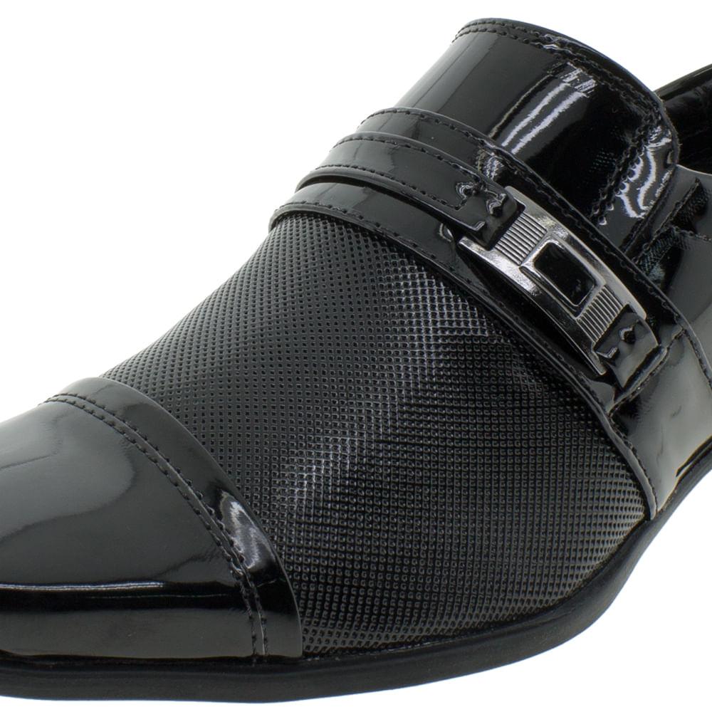 cc5841a3b Sapato Masculino Social Garden Preto Valecci - 73055 - cloviscalcados