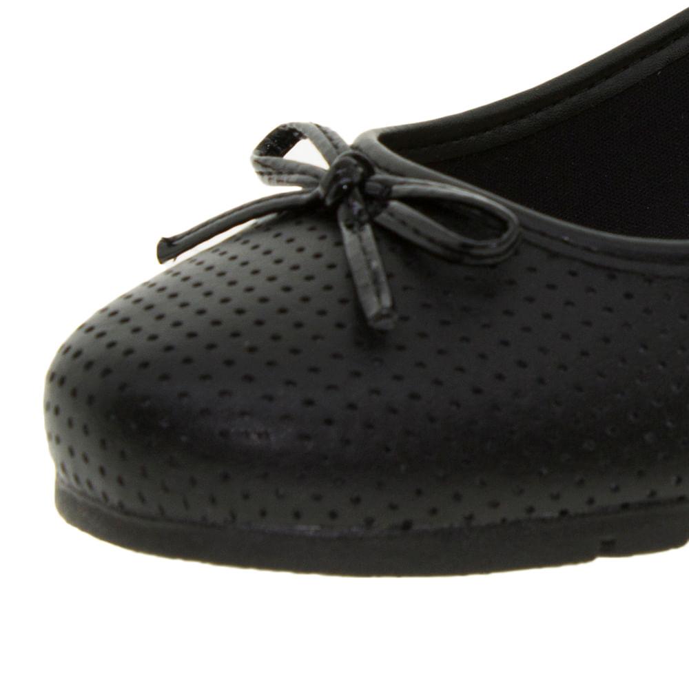 b4f4df200 Sapato Feminino Anabela Preto Moleca - 5156445 - cloviscalcados