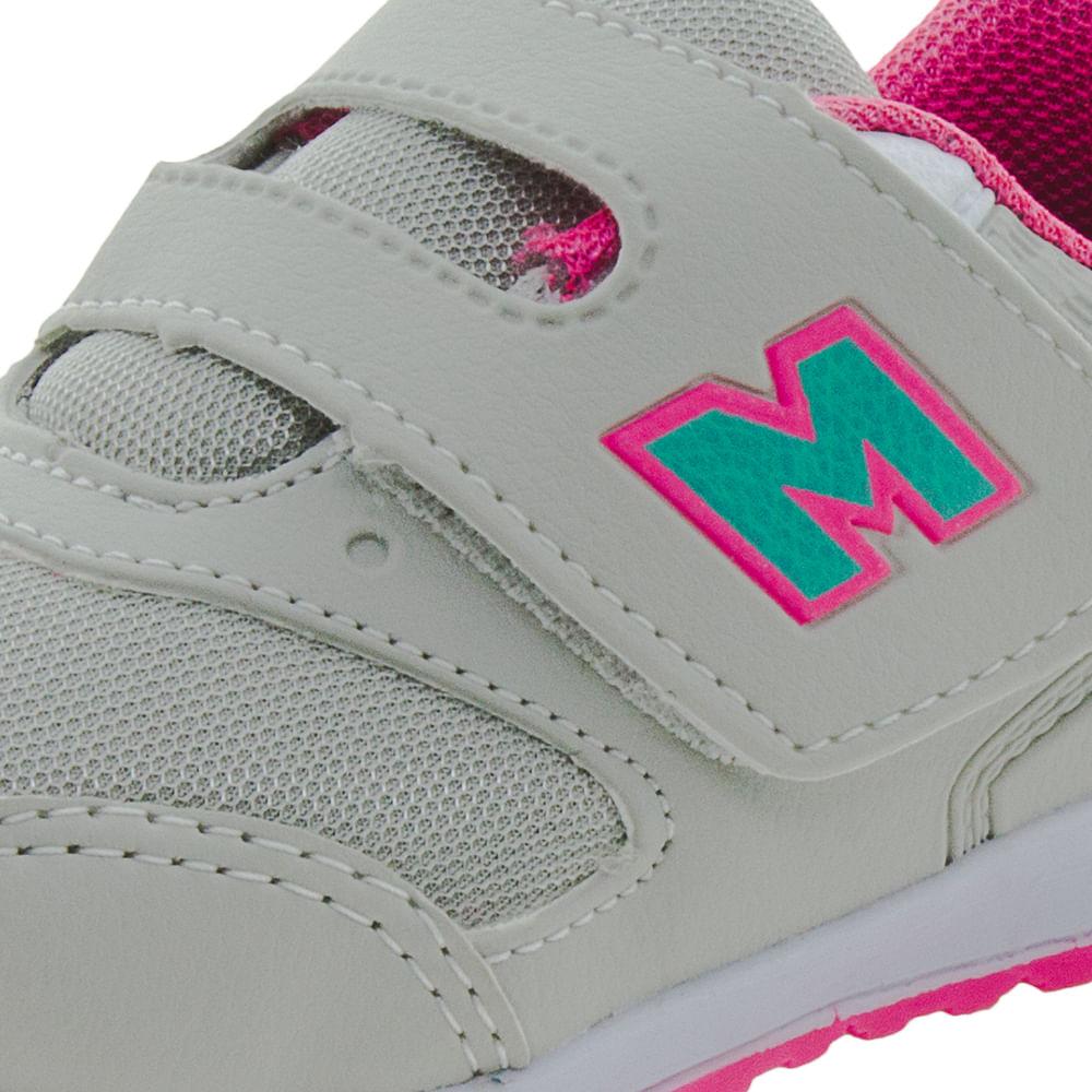 b6428d883 Tênis Infantil Feminino Gelo/Pink Minipé - MP1617 - cloviscalcados