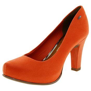 08eb3fea2d Sapato Feminino Salto Alto Laranja Dakota - B7891 - cloviscalcados