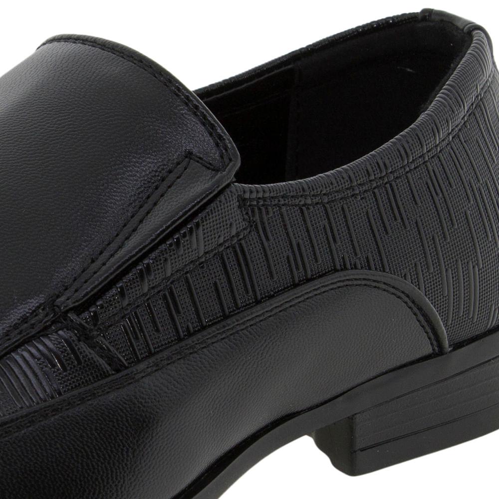 e8b5b7e49 Sapato Infantil Masculino Preto Broken Rules - 95026 - cloviscalcados
