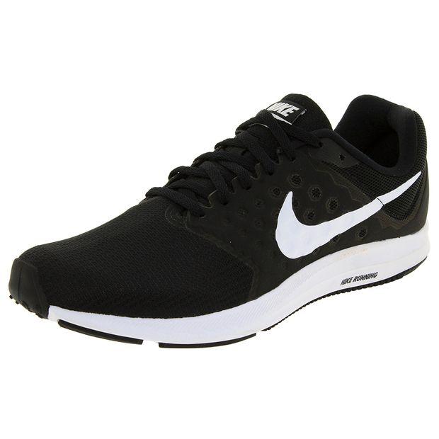 a71c6e39e47 Tênis Masculino Downshifter 8 Preto Nike - 908988 - cloviscalcados