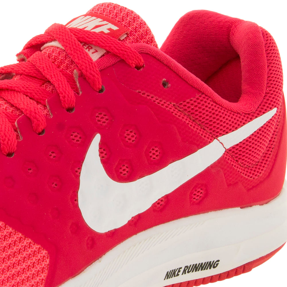 Tênis Feminino Downshifter 7 Pink Rosa Nike - 852459 - cloviscalcados 9766760f38ba4