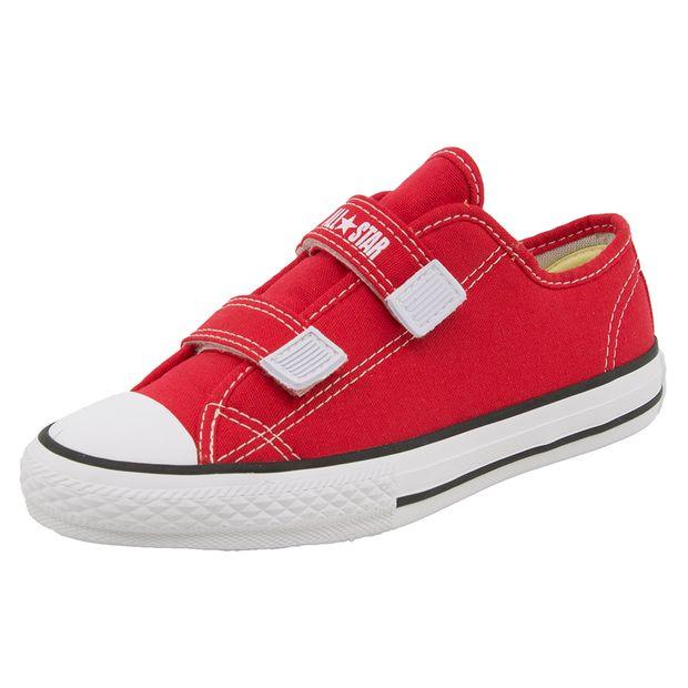 Tenis-Infantil-Feminino-Core-2-Straps-Vermelho-All-Star-Converse---206-01