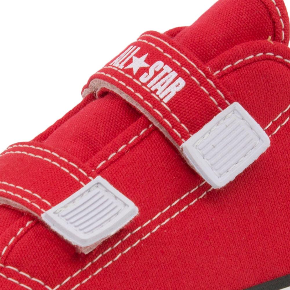 53e57f2af Tênis Infantil Feminino Core 2 Straps Vermelho All Star Converse - 206 -  cloviscalcados