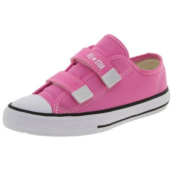 Tenis-Infantil-Feminino-Core-2-Straps-Pink-All-Star-Converse---206-0321070096-01