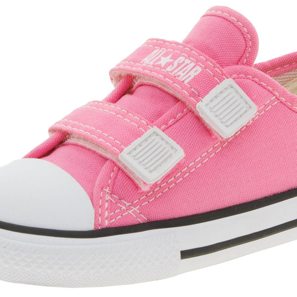 c4b489b4c2a Tênis Infantil Baby Rosa All Star Converse - CK0508 - cloviscalcados