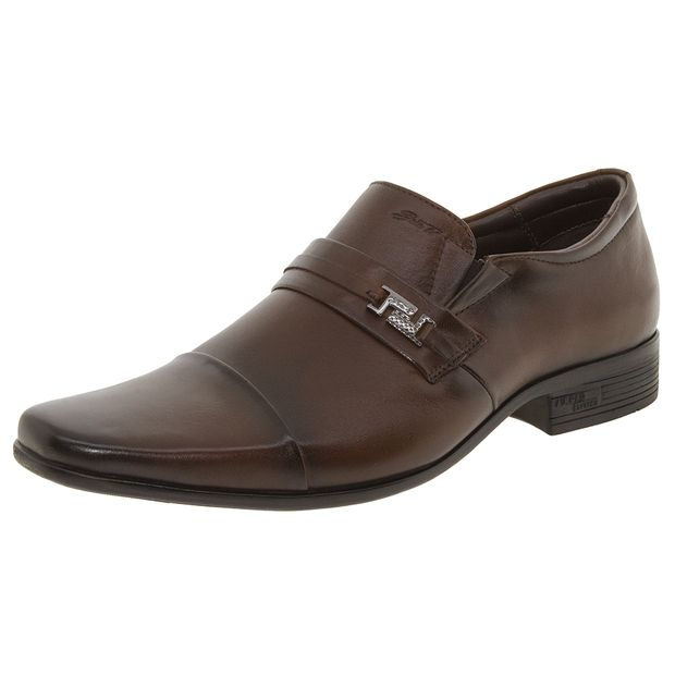 91b41cf4e sapato-masculino-social-marrom-jot-0111312063-01. Sapato Masculino Social  Marrom Jota Pe - 13127 ...