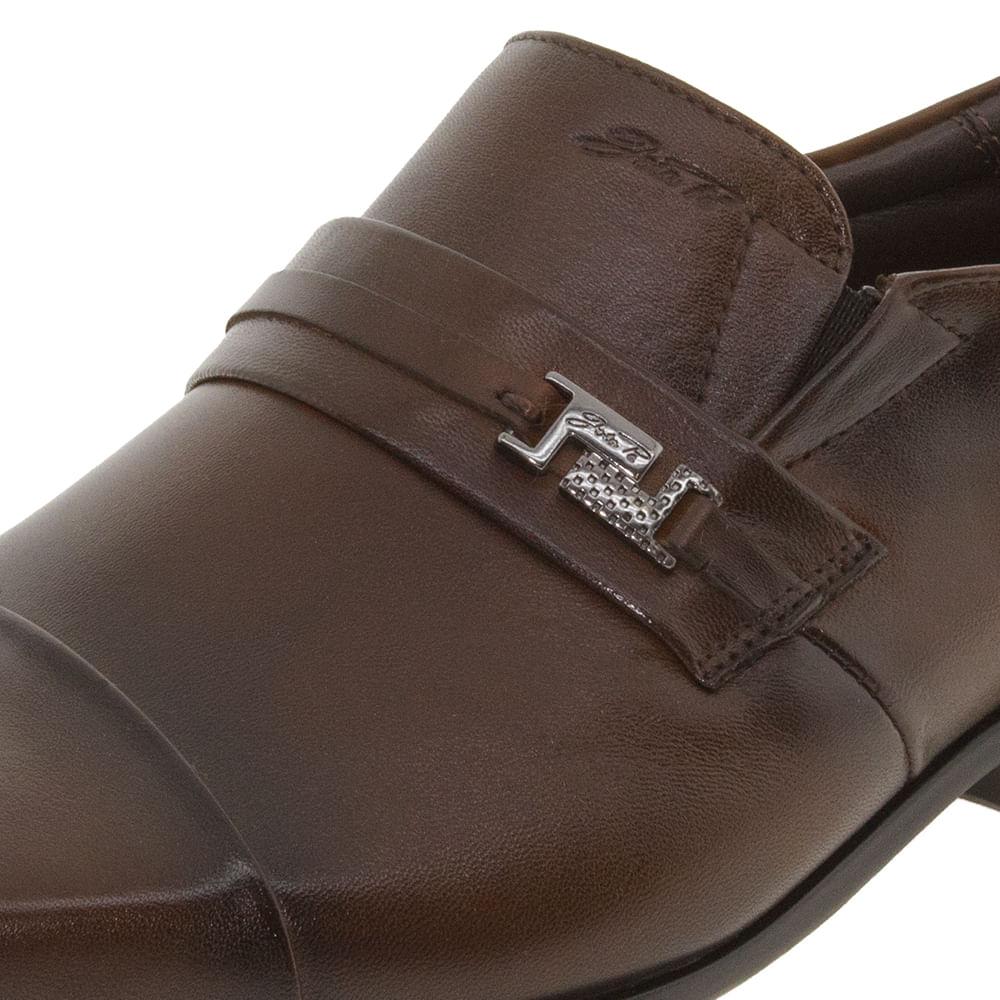 b5a82df94 Sapato Masculino Social Marrom Jota Pe - 13127 - cloviscalcados