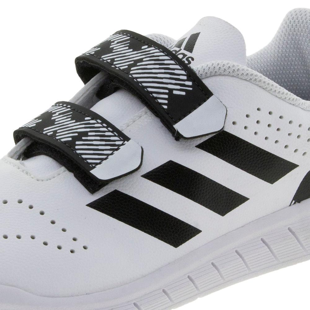 Tênis infantil Masculino QuickSport CFC Branco Adidas - H68523 -  cloviscalcados 485b69c7fcd